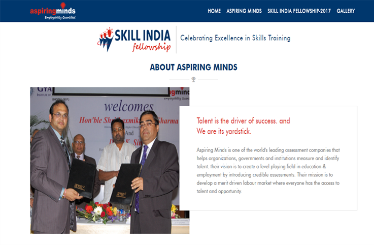 Skill India Fellowship